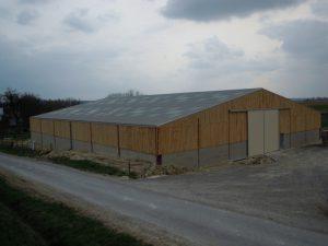 Bâtiment d'élevage et stockage fourrage - Dép. 08