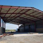 Bâtiment métallique de stockage & élevage (08)
