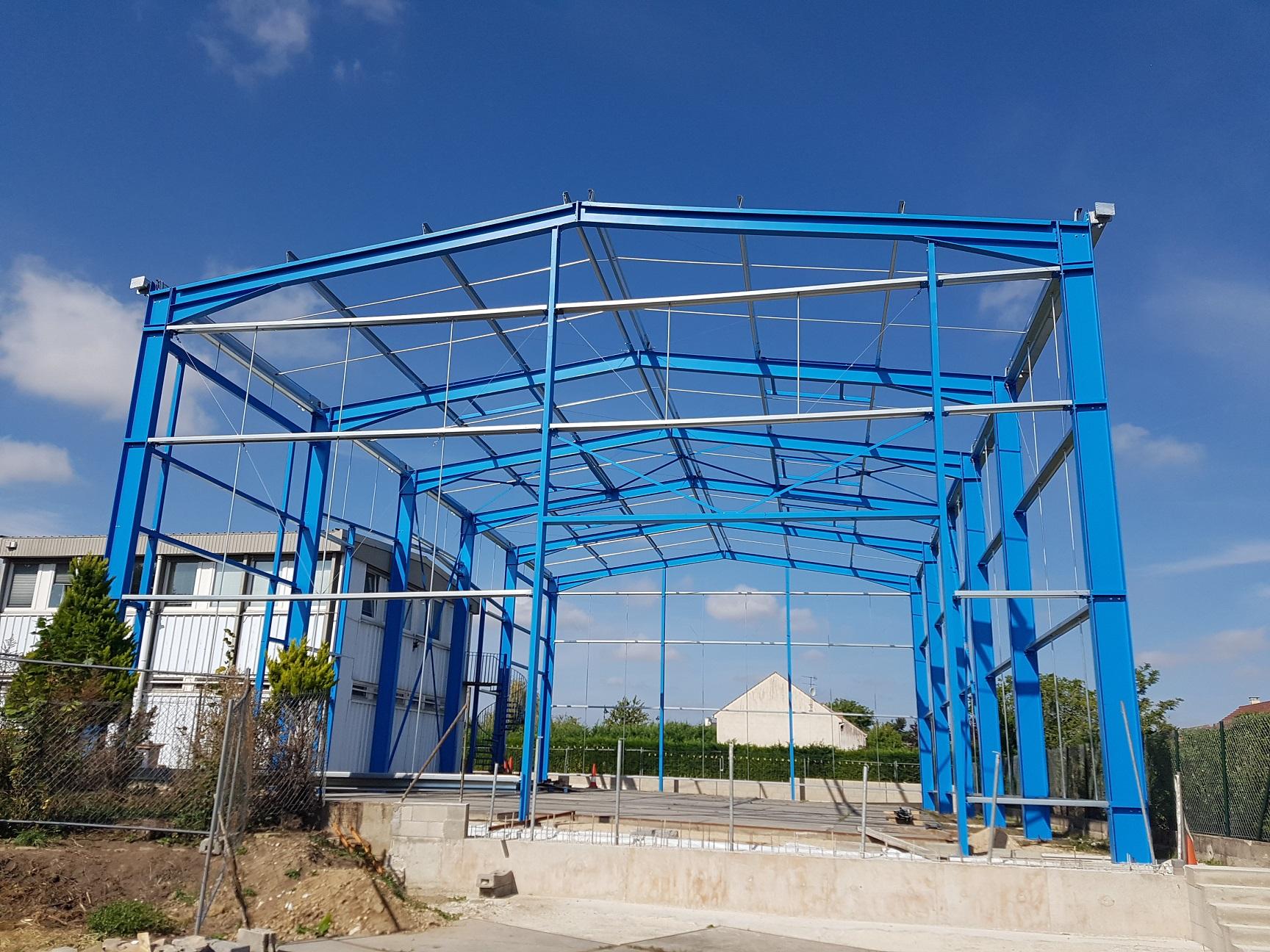 Bâtiment stockage industriel (77)