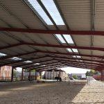 Centre équestre bâtiment métallique (27)